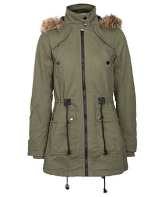 coat fur parka faux