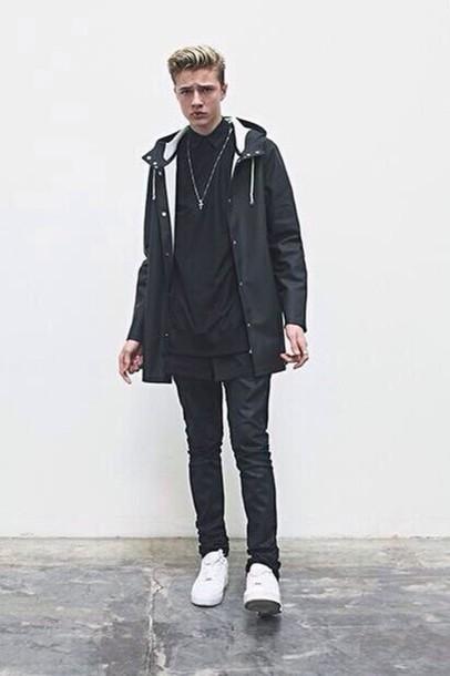 jacket urban menswear mens jacket