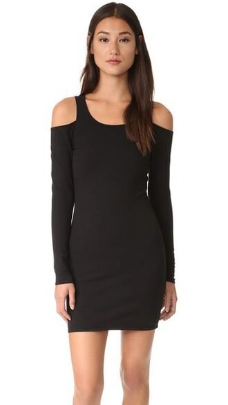 dress mini dress mini cold black