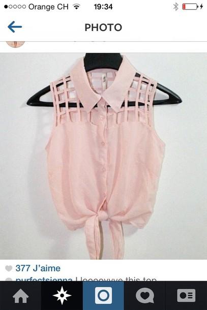 shirt pink#