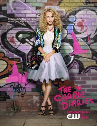 jacket the carrie diaries carrie bradshaw