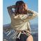 Gia fringe jacket by winston white