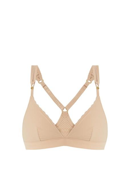 STELLA MCCARTNEY LINGERIE bra soft nude underwear
