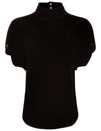 top black velvet