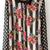 Black Dot Stripes Floral Print Chiffon Blouse - Sheinside.com
