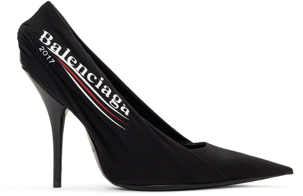 Balenciaga heels black shoes