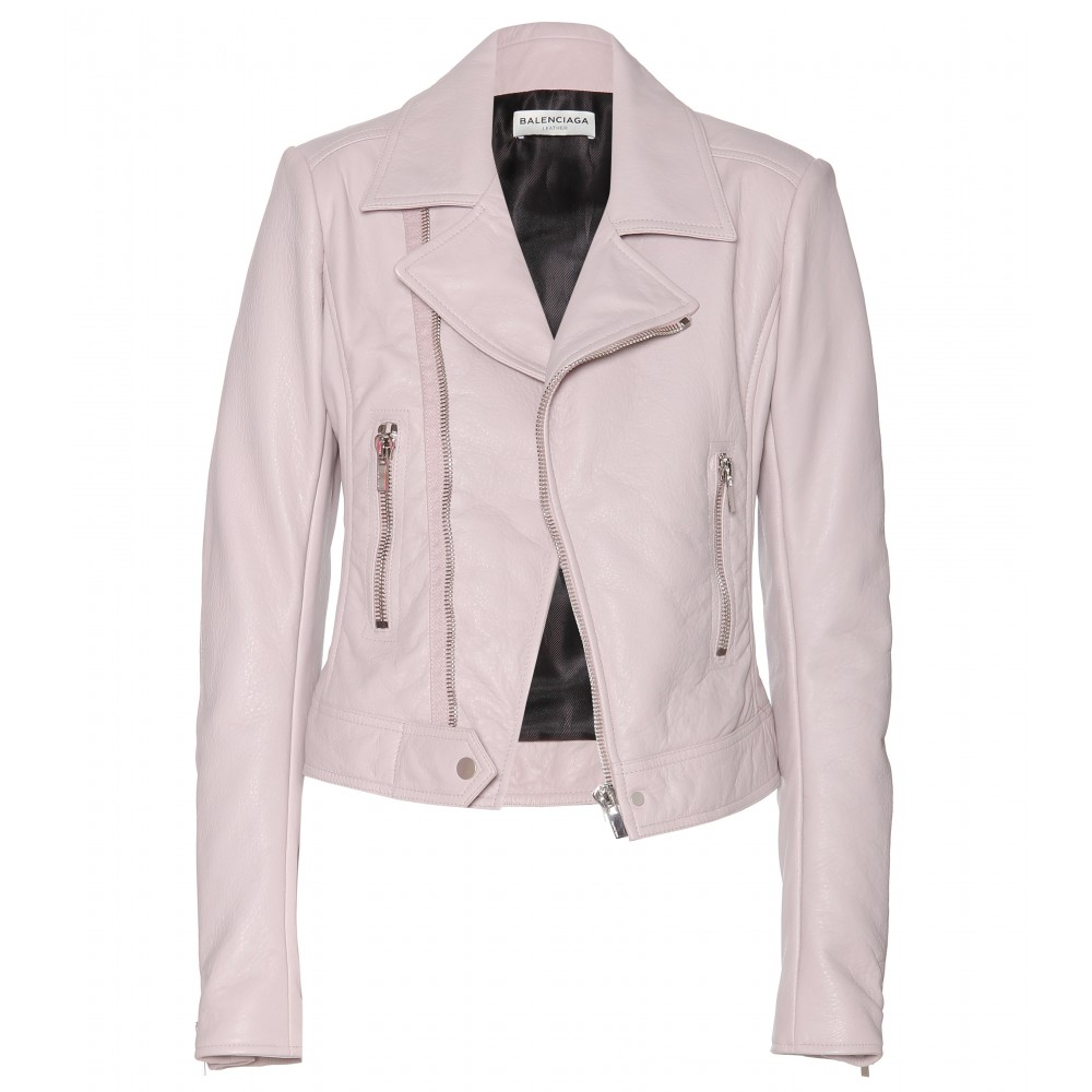 mytheresa.com - Leather biker jacket - Leather - Jackets - Clothing - Luxury Fashion for Women / Designer clothing, shoes, bags