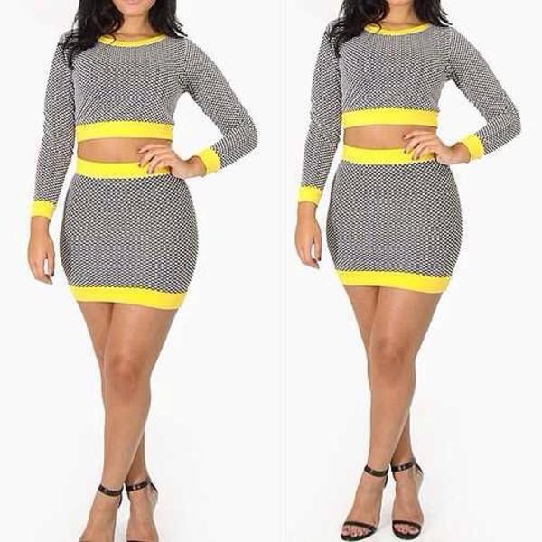 shirt two-piece skirt