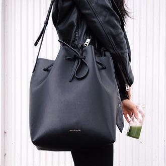 bag tote bag purse back back pocketbook straps