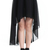 ROMWE | Anomalous Hemline Black Skirt, The Latest Street Fashion