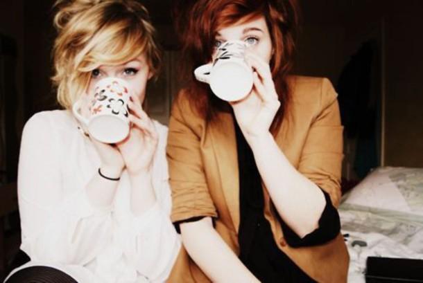 blouse mug friends