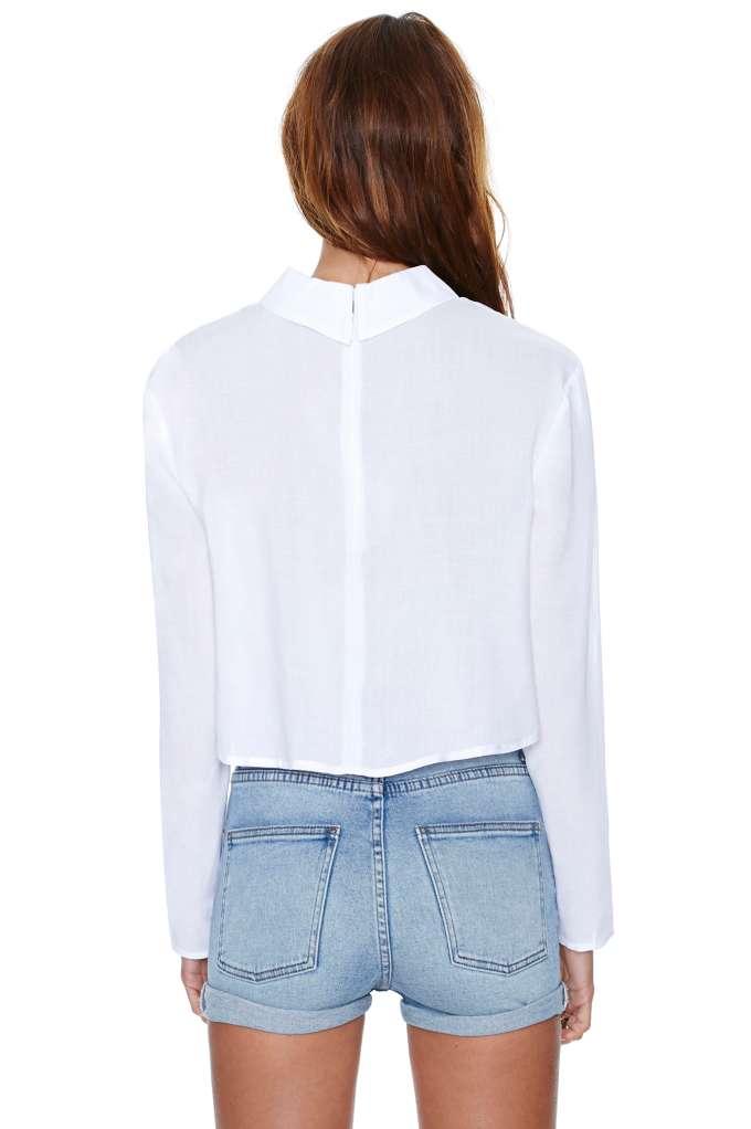 Nasty Gal Dropout Top   Shop Shirts   Blouses at Nasty Gal