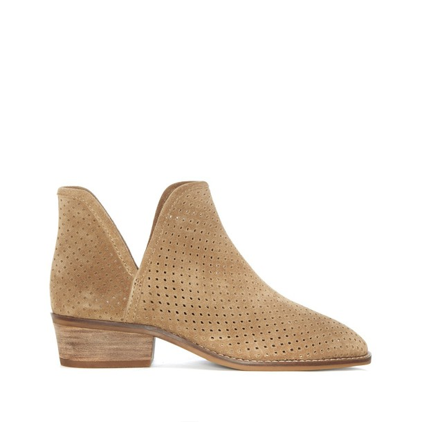 Lucky Brand Kambry Perforated Bootie - Sesame-6