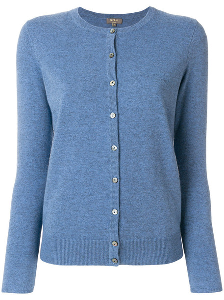N.Peal cardigan cardigan women blue sweater