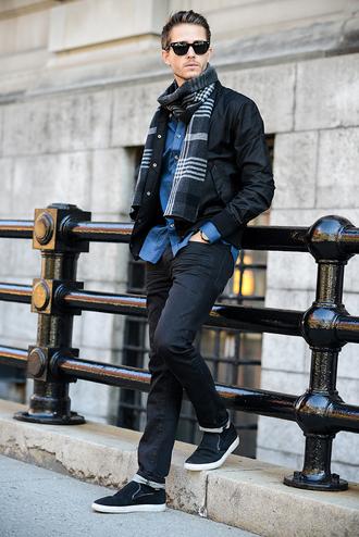 i am galla blogger sunglasses scarf jacket menswear mens shirt mens jacket mens accessories