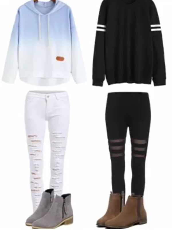 sweater, tumblr outfit, outfit, outfit idea, fall outfits ...