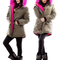 Women's warm street casual parka jacket