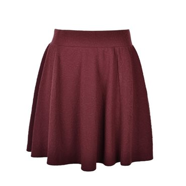 JACQUARD KNIT SKATER SKIRT - Ally Fashion