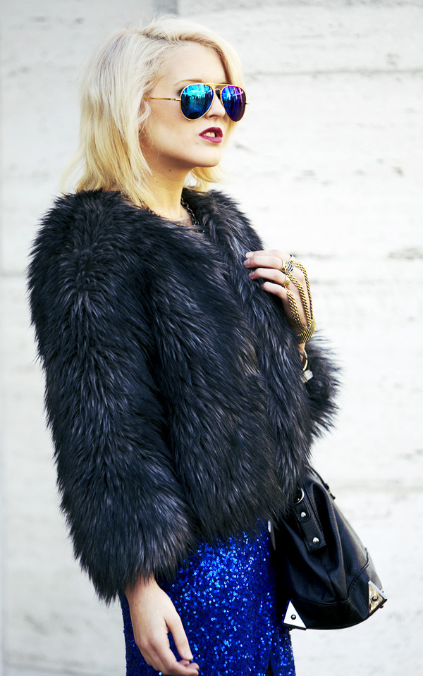 i hate blonde dress jacket jewels