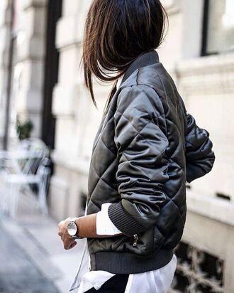 jacket tumblr bomber jacket satin bomber khaki bomber jacket watch