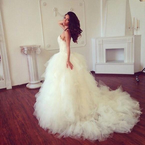 wedding clothes gown ballgown princess gorgeous dreses wedding dress