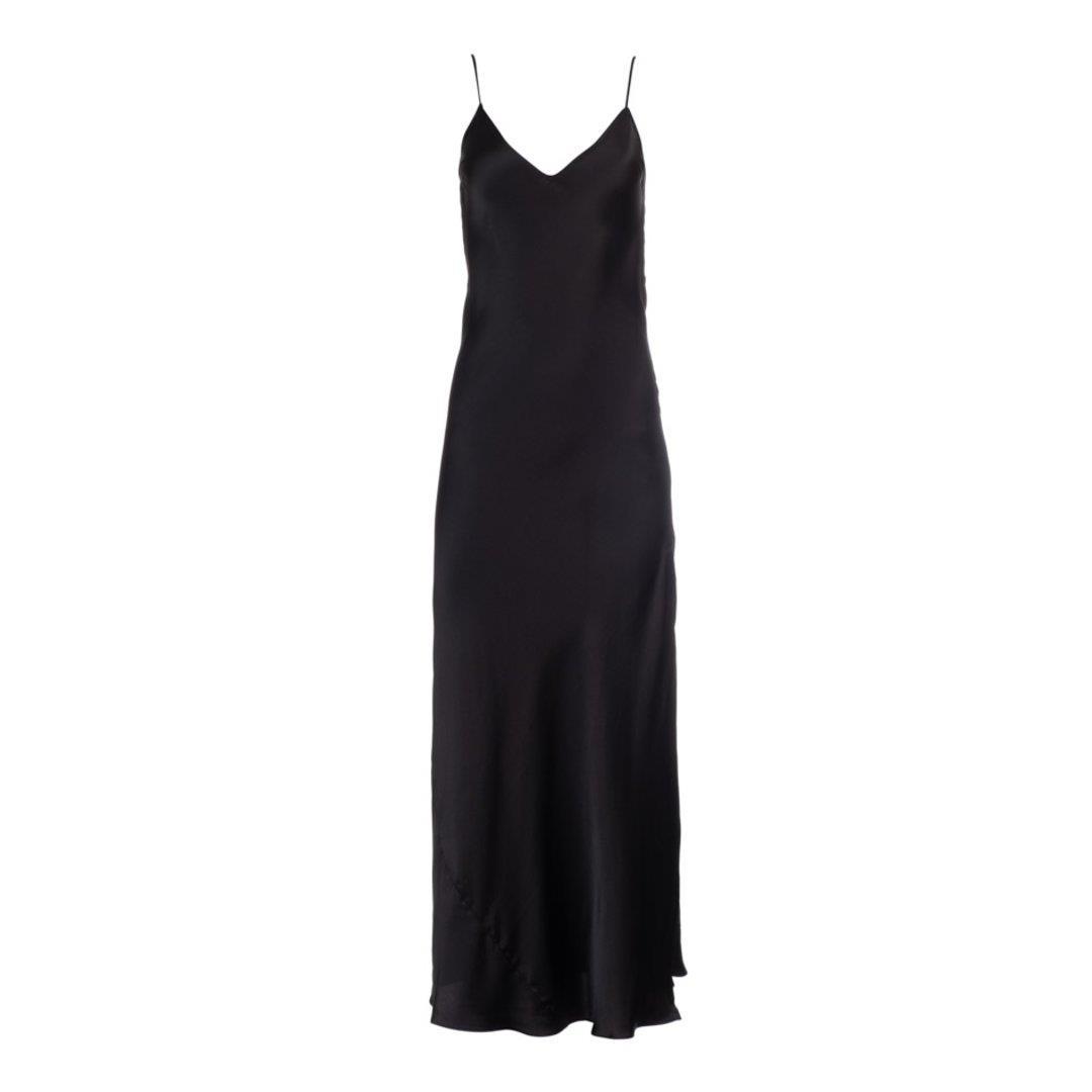 True Black Slip Dress