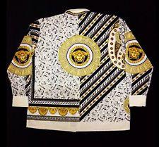c729271d Vintage Gianni Versace Silk Shirt Medusa Baroque Very Rare 100 ...