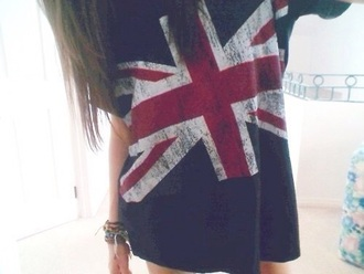 t-shirt flag britian comfy jewels