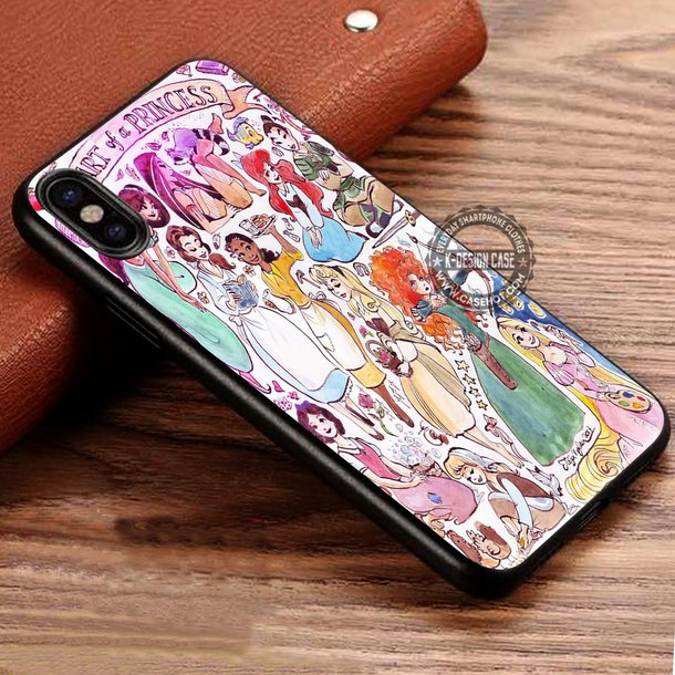 disney princess iphone 8 case