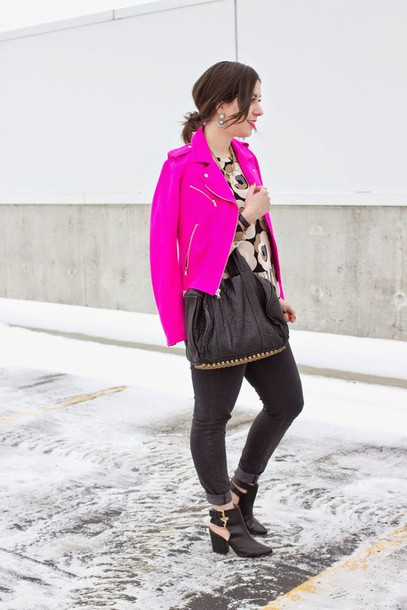 adventures in fashion blogger jacket blouse jeans shoes bag jewels