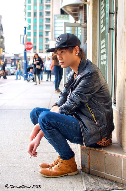 blue jeans snapback urban street shoes menswear mens shoes fashion style  jeans dark blue leapord print b70d852945a