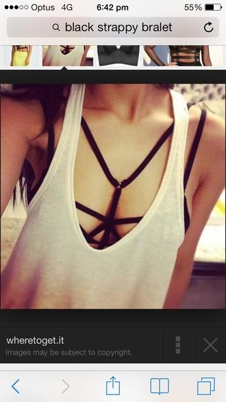 underwear bra strappy