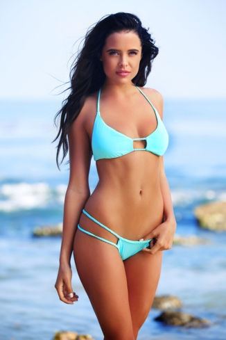 2014 FRANKIES BIKINIS Oceanside Bottom | Vida Soleil