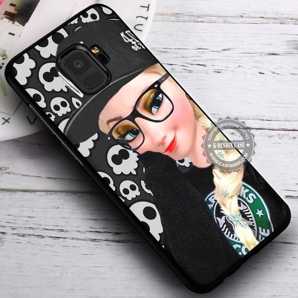 Punk Princess Frozen Elsa iPhone X 8 7 Plus 6s Cases Samsung Galaxy S9 S8 Plus S7 edge NOTE 8 Covers #SamsungS9 #iphoneX