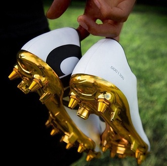 cleated sole soccer soccer cleats mens shoes gold soccer shoes mens sportswear