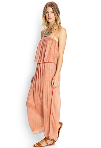 Flounce Maxi Dress | FOREVER21 - 2000102404