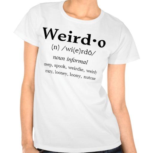 Weirdo definition noun informal creep, spook,