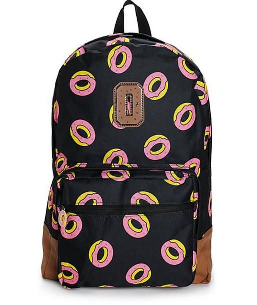 bag, bookbag, backpack, donut - Wheretoget