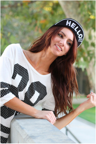 black hat hipster summer outfits hat hello hello hat cute hat hipster hat hiphop hiphop style print girl fashion accessories fashion hats