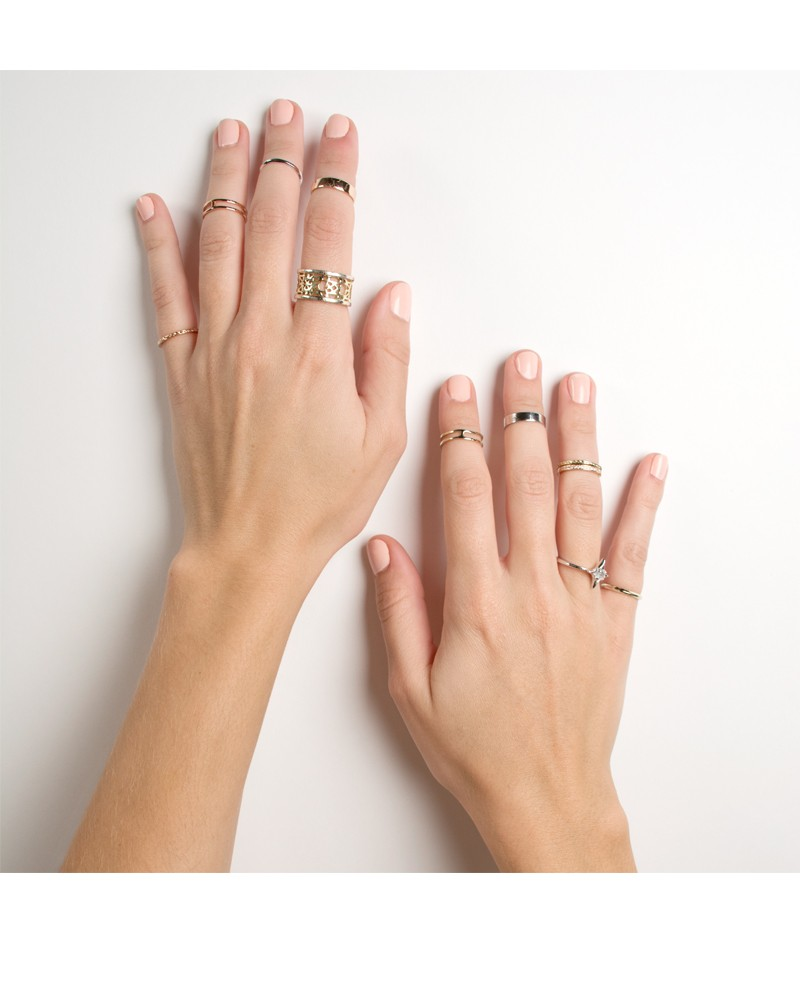 Kara Midi Ring Set in Rose Gold - Kendra Scott Jewelry