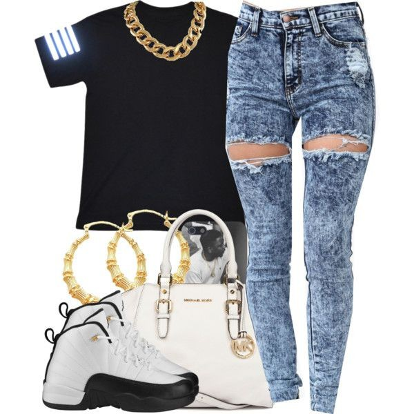 jeans t-shirt shirt jewels shoes