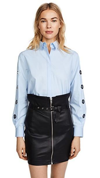 Versus shirt collared shirt top