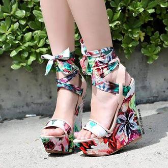 shoes wedges cute high heels heels high heels wedge heels