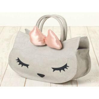 bag cats purse bow cute kawaii neko