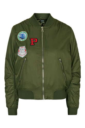jacket badged women patch bomber jacket green khaki badge ma1 bomber jacket ma1 bomber