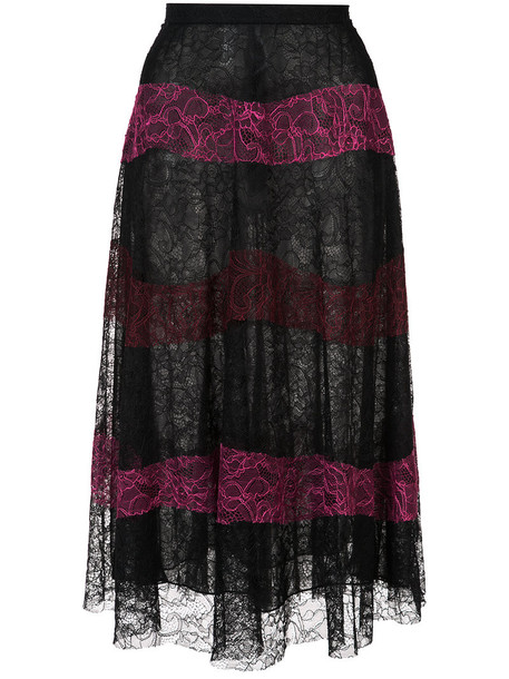 Sachin & Babi skirt lace skirt women lace black