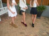 red shoes,high heels,clogs,jeffrey campbell,shoes