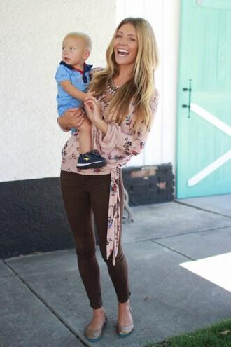 birdalamode blogger blouse pants