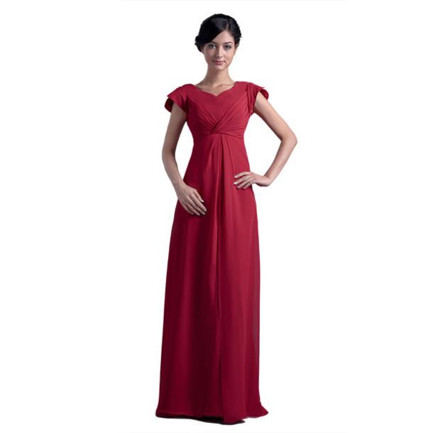 Dress Prom Dress Red Dress Long Dress Formal Dress Maxi Dress