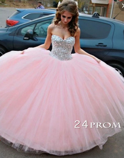 Long Sweet 16 Dresses with Straps